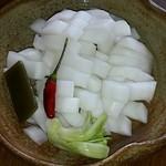 けんちゃん漬 - あっさり美味しい漬物です