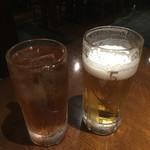 ニユートーキヨー 庄屋 - ウーロンハイと生ビール♡