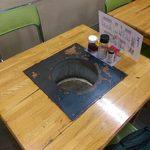 寿苑 - 二人用のテーブル席