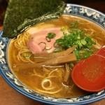 薫 - 煮干しラーメン650円