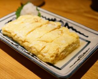 石臼挽き手打 蕎楽亭 - 2015.10 だしまき玉子(1,000円)