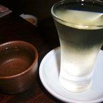 おさかな処 磯の家 - 日本酒(久保田)と千寿八朔