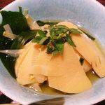 おさかな処 磯の家 - 若竹煮