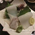 山陰旬華 新鮮組  - イカの刺身