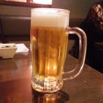 琉球・梅酒ダイニング てぃーだ - ビール