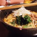 琉球・梅酒ダイニング てぃーだ - 琉球坦々麺