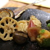 Hanamarukichijitsu - 料理写真:さんま、しらこ、レンコンなど