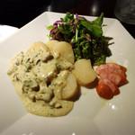 タコリブレ - お勧めから 帆立のソテー牡蠣ソース \1,100