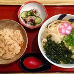 麦笛たまき - 料理写真:うどん定食