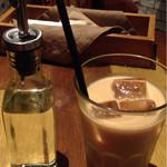 J.S. PANCAKE CAFE  - ロイヤルミルクティー(アイス)
