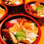 長津寿司店 - 海鮮ちらし