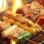 福の神 - 料理写真:備長炭でじっくり焼き上げました。アツアツの内に召し上がれ!
