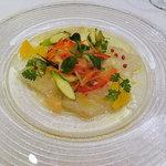 ヴェル・ボワ - 真鯛のマリネ柑橘風味のソース