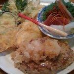 京田村 - ハンバーグ定食