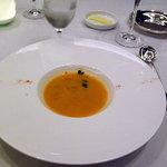ヴェル・ボワ - 浅利のスープ サフランの香り