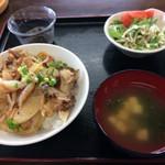 42612165 - カーキタコ丼定食