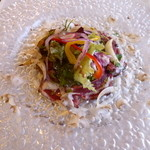 PEPITA D'ORO - 大和牛のタリアータ サラダ仕立て
