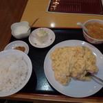 42613741 - 海老と玉子の炒め