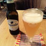 モモガルテン - ベルギービール・ヒューガルデンホワイト・700円