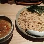 ボノボ - (冷)渡り蟹のつけ麺(大盛)880円