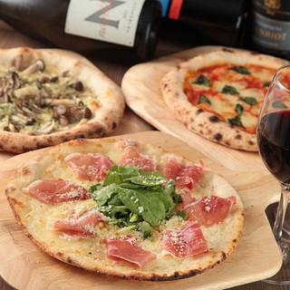 横浜で、2種類の生地が選べる窯焼きピザはピザコゾウだけ!