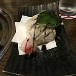 とろさば料理専門店 SABAR - 鯖寿司のてんぷら