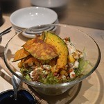 厨ぼうず - ハロウィンバージョンのサラダ
