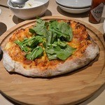 厨ぼうず - マルゲリータ風のピザ