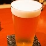 鮨座 醤の - 生ビール