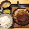 ぐるめらん - 料理写真:ハンバーグステーキ+ごはんセット(写真のごはんは小盛です)