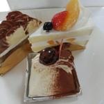 白十字 - 料理写真:自宅用ケーキ