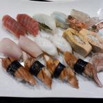 居酒屋 いっぷく - ☆握り寿司の盛り合わせ‼︎豪華‼︎☆