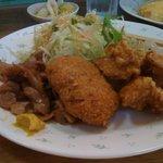 とんかつ わたなべ - 料理写真:日替わり定食 600円