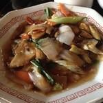 42620034 - 黒酢野菜炒め