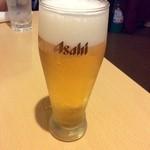 42620919 - まちなかバルメニュー「ビール 小グラス」