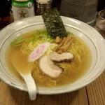 汐屋 まる長 - 塩そば(700円)(大盛サービス)