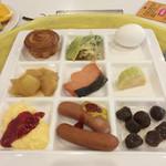 万座プリンスホテル - 朝食。朝から何でこんなに食べれるんだろ⁉︎