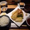 ごはんとてんぷら ひねもすのたり - 料理写真:天ぷら定食   美味そうな見た目  1000円