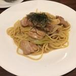 モカロ - 若鳥と長ネギの醤油パスタ(980円)