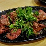 とりけん - 肝塩焼(ネギゴマダレ)(2015年9月)
