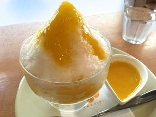 マルグリット - 【15年10月】今年最後のかき氷のおやつ