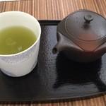 ピーストチャ - 冷煎茶:350円