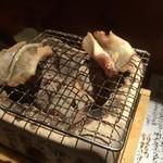 めしの助 - 穴子の炙り
