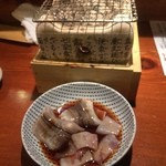 めしの助 - ヒイカと穴子の炙り