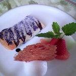 ビランシア - 野菜で作った自家製デザート