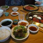 大東園 - ランチの和牛カルビ定食940円税込