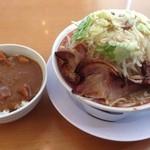 麺屋 中川 - カレー丼とセットで¥980