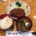 Niimura - メンチカツ定食780円(税込)