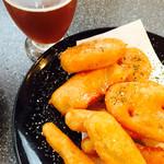 西荻ビール工房 - 野菜のフリット。