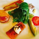 プティ・コトン - 料理写真:前菜。